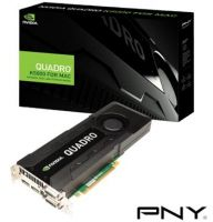 Видеокарта PNY Quadro K5000 4GB DDR5 DVI-I/DVI-D/2xDP for Apple MacPro