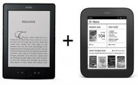 Комплект электронная книга Amazon Kindle 5 + NOOK Simple Touch