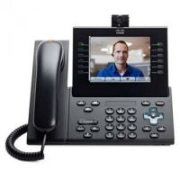 Проводной IP-телефон Cisco UC Phone 9971,  Charcoal,  Slm Hndst with Camera