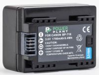 Аккумулятор PowerPlant Canon BP-718 chip
