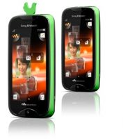 Мобильный телефон SonyEricsson WT13i Walkman Green on Black