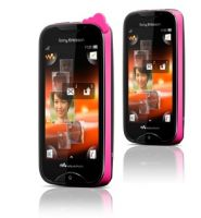 Мобильный телефон SonyEricsson WT13i Walkman Pink on Black