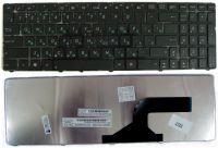 Клавиатура asus A52 K52 K53 X54 N53 N61 ru black (версия K52)